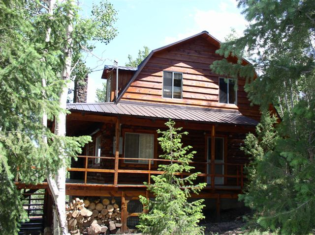 Panguitch lake utah real estate log cabin for sale at for Authentic log cabins for sale