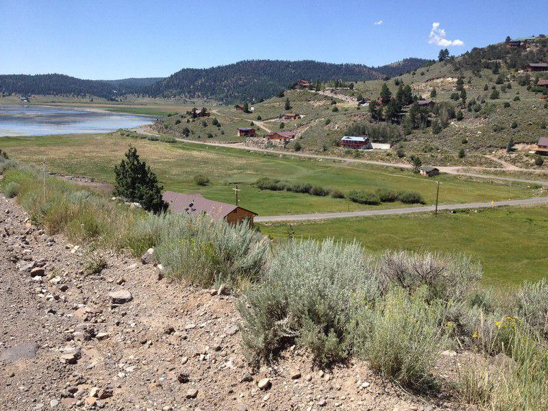 Panguitch Lake Real Estate, View lot for sale overlooking Panguitch Lake