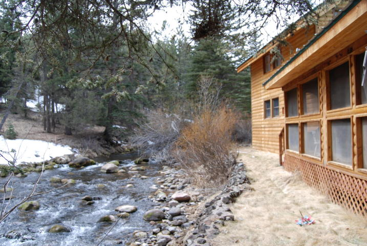 Southern Utah Real Estate Mammoth Creek Cabin For Sale On The River