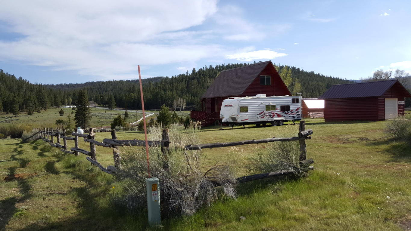 Cabin for sale overlooking Mammoth Creek