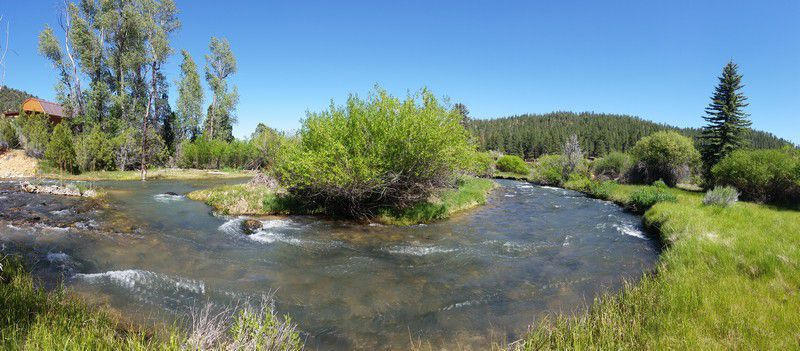 Property For Sale With Mammoth Creek Running Through It