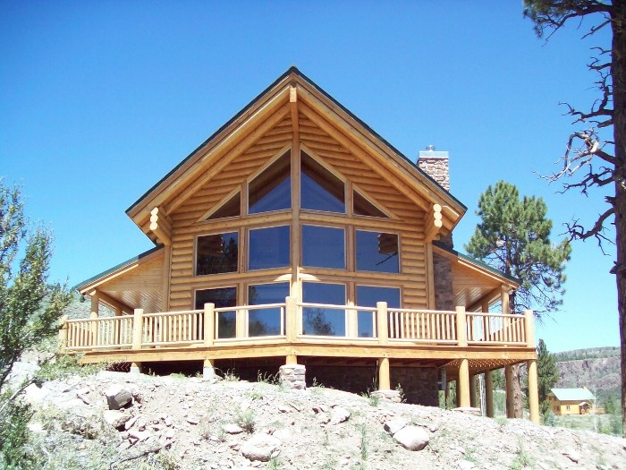 Utah real estate and utah homes for autos weblog for Authentic log cabins for sale